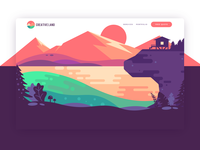 Creative Land Website Design