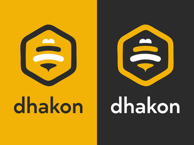 Dhakon Logo 😘 brand identity dhakon logotype logodesign logos design brand design branding brand logo