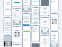 Wireframe - Kickup App for Parking Ticketing