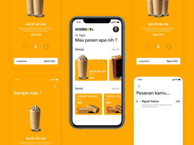 WISNGOP¿ - Mobile App