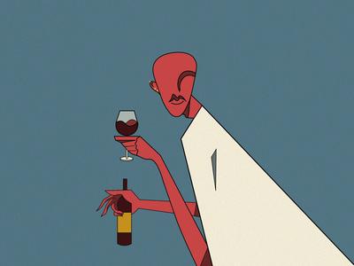 Wine glass illustration art illustration digital earings design illustration design character design character wine glass wine drawing illustration