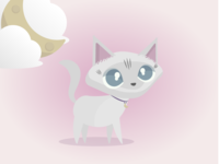 Kawaii Kitty - Luna