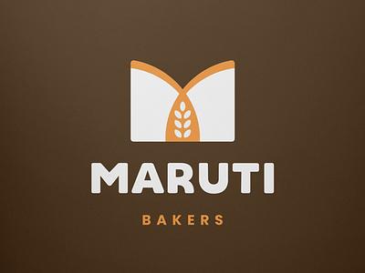 Maruti Bakers Logo Design branding logodesign