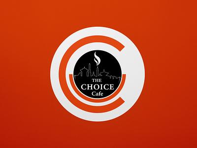 The Choice Cafe | Logo icon typography vector illustration branding logodesign