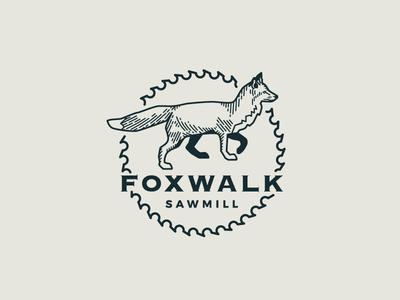 FoxWalk Sawmill Logo