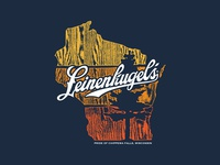 Leinenkugel's Wisconsin Merch Design