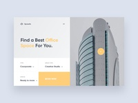 spacefo landing page