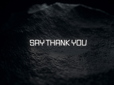 Say Thank You