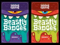 Beastly Badges Labels