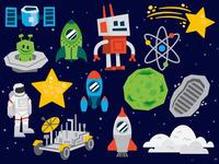 space stuffs