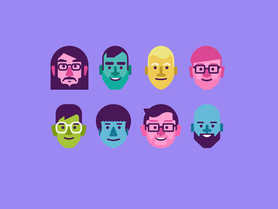 team avatars illustration avatar ui