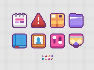 chonkyboiz icons ui illustration