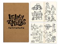 Leaky Timbers Sketchbook