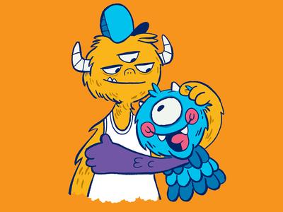Wolfie & Roy