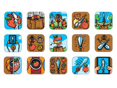 Bonsai Slice icon evolution