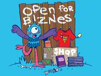 Open for Biznes
