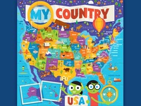 PBS Kids My Country Puzzle