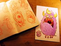 Monster Processsssh