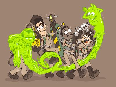 Ugly Little Spud poor peter cartoon ghostbusters