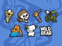 Wild Bear Series 1 Pins