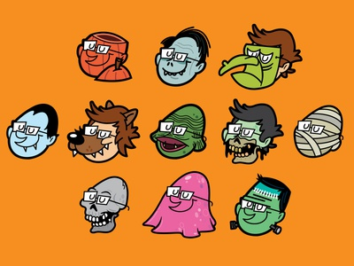 2012 Halloween Avatars