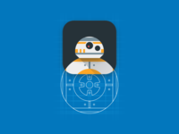 bb8 ios app icon concept