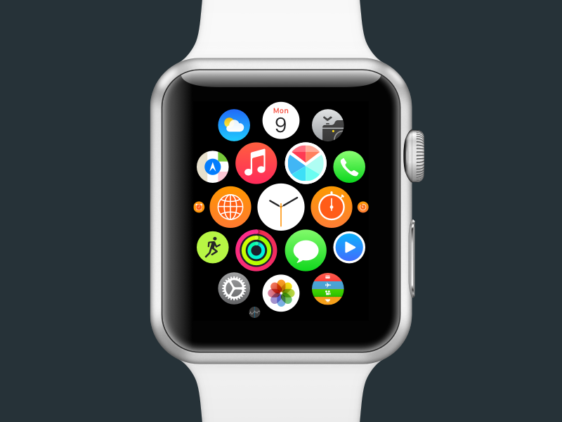 polymail watchos app icon concept redesign concept icon app watchos polymail