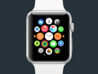 polymail watchos app icon concept