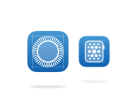 apple watch ios app icon concept