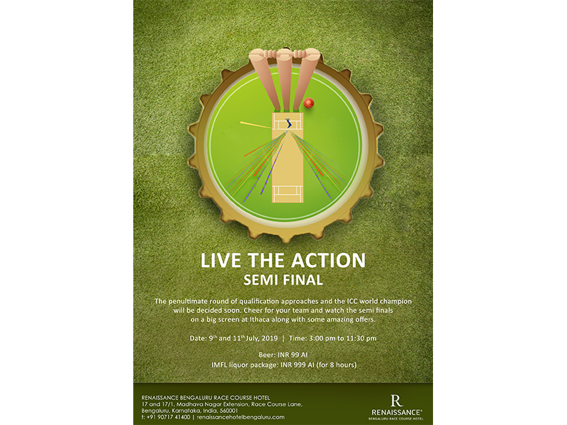 Cricket illustration design
