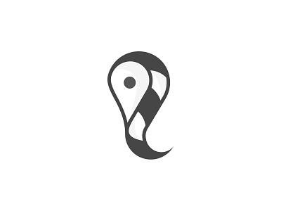 Location Logo! l for location logo simple modern business brand identity branding black and white minimalist minimal logo