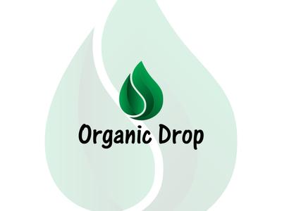 Organic Drop Logo