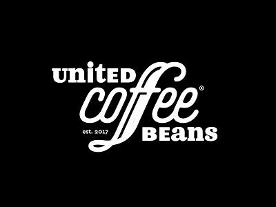 UCB Logo font cafe typography type logo beans coffee united