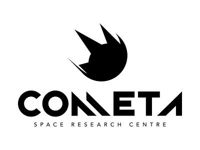 Cometa Logo research science astronomy future font cosmos logo logotype space cometa