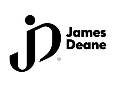 James Deane logo monogram deane james jd branding design minimal font type logotype logo
