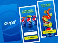 Pepsi Game UI