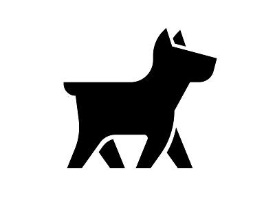 Doggi Logo animal vector illustration symbol minimal logo silhouette pet doggi dog