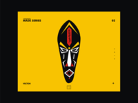 African mask series