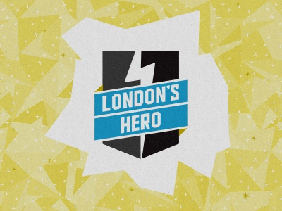 London's Hero Banner london hero event logo pattern superhero