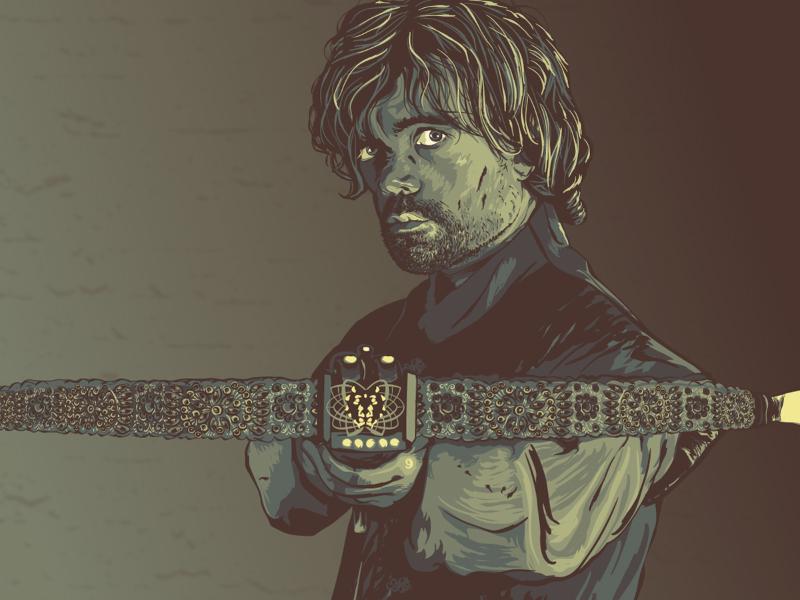 Tyrion Lannister fan art tyrion lannister tyrion game of thrones illustration vector illustrator