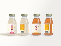Rebrand and Label Design for Moti Beverages