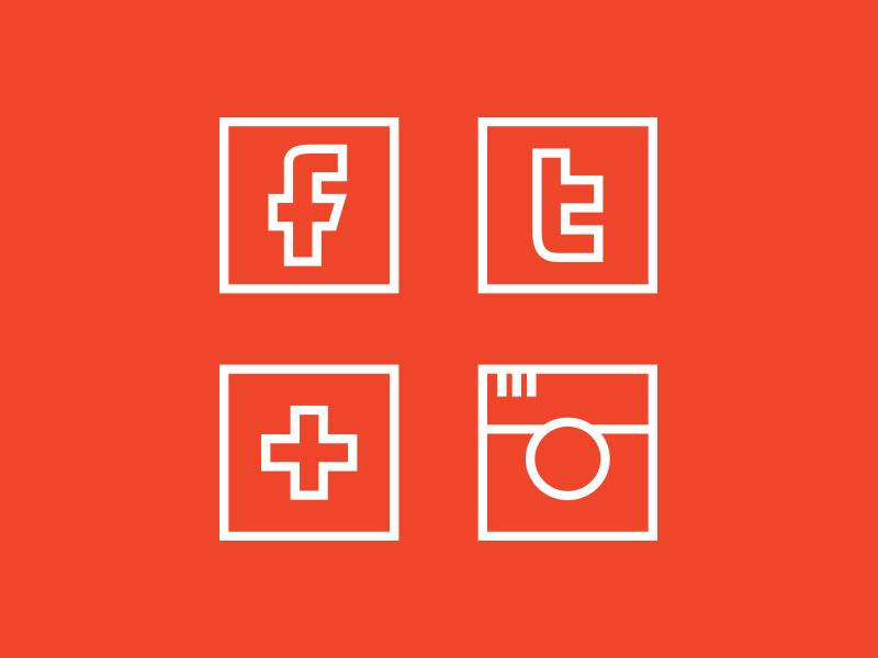 Social Icons icon social