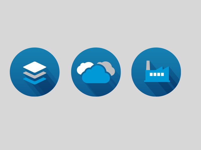 Iconpalooza salesforce icon industry cloud long shadow