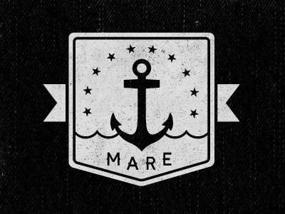 Mare design logo illustration vector