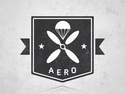 Aero design logo illustration vector
