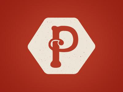 Paradox logo typography illustration