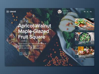 Food Blog   Wix Responsive Design
