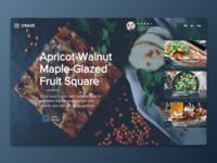 Food Blog | Wix Responsive Design