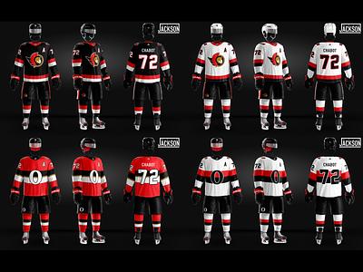Ottawa Senators Jersey Concept Designs sports design photoshop adobe designs concept jersey hockey senators ottawa nhl
