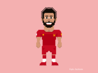 8-Bit Athletes: Mo Salah